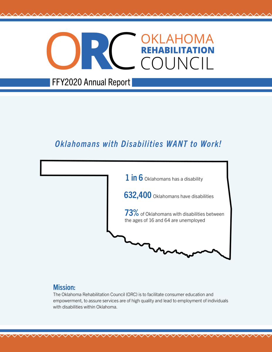 FFY 2020 Oklahoma Rehabilitation Council Annual Report